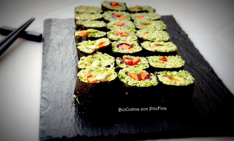 Maki de brócoli