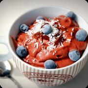 helado-frambuesas